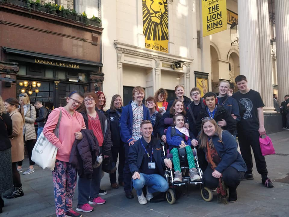 Memory of a Lifetime Trip Overnight 1 - Lion King, London Feb 2019 GROUP