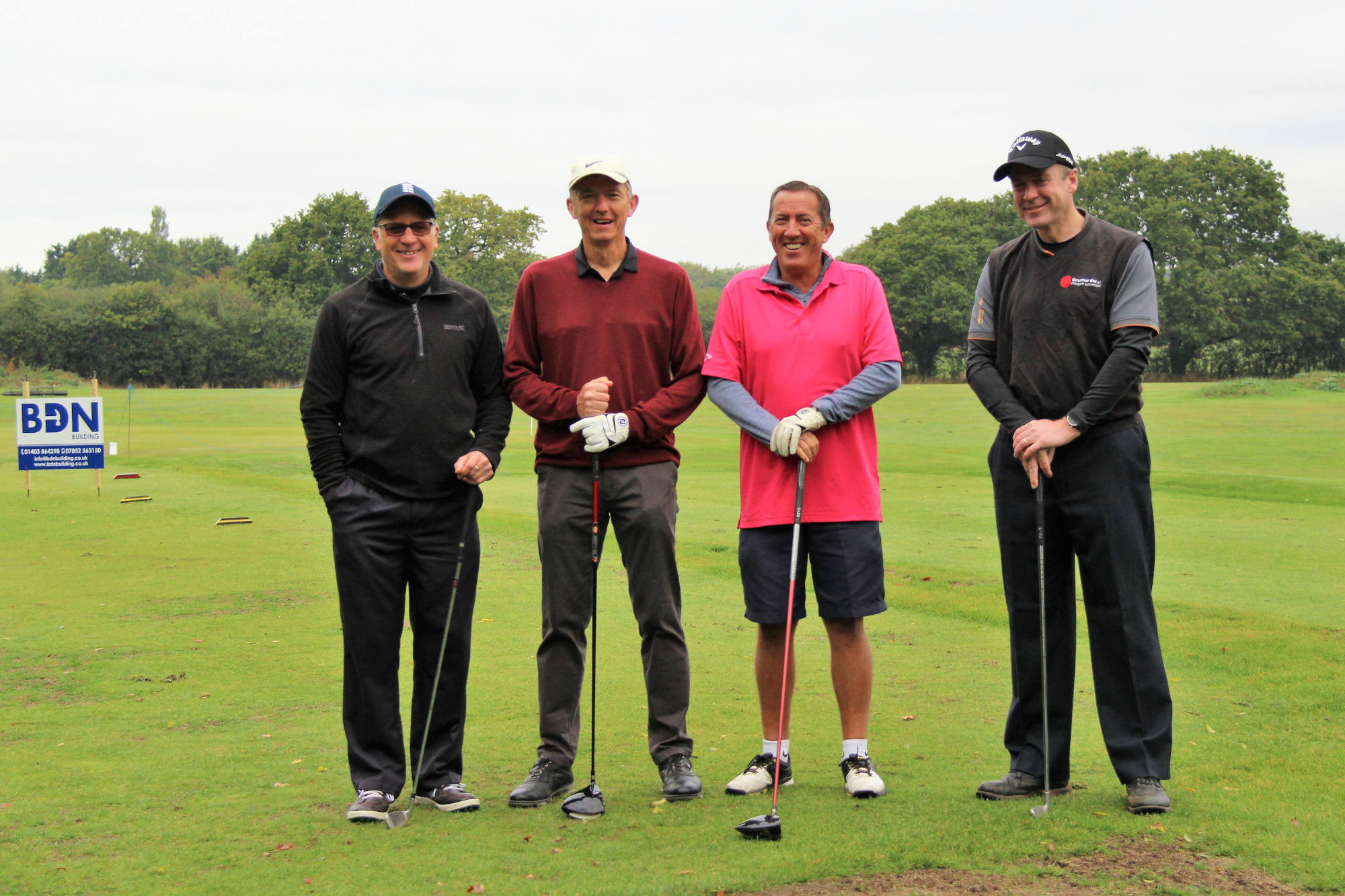 Kangaroos Charity Golf Day Goes with a Swing